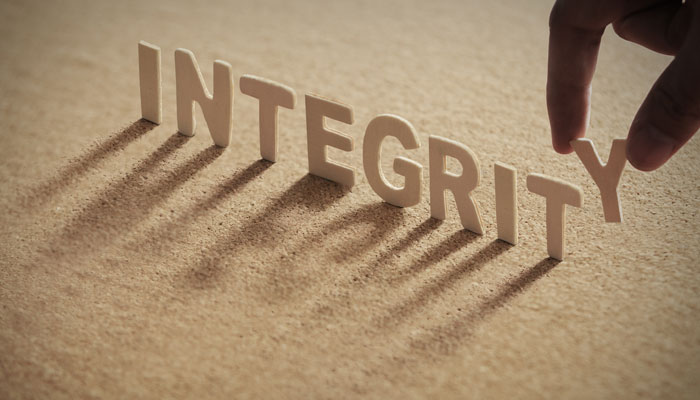 Integrity: How We Live When No One Is Watching