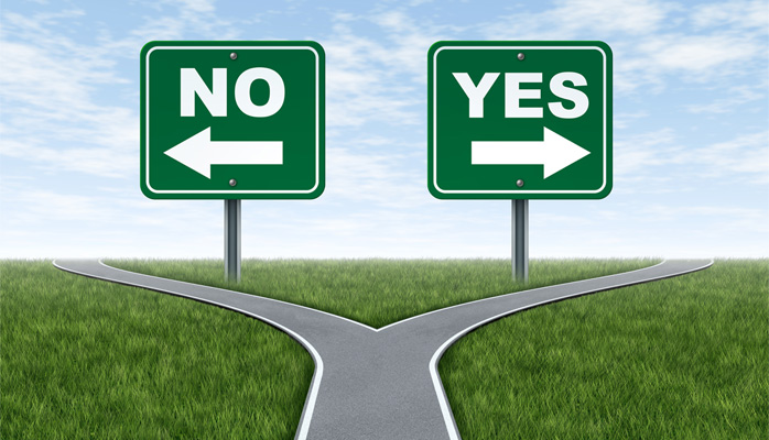 Saying Yes or No? Exercise Your Power of Choice