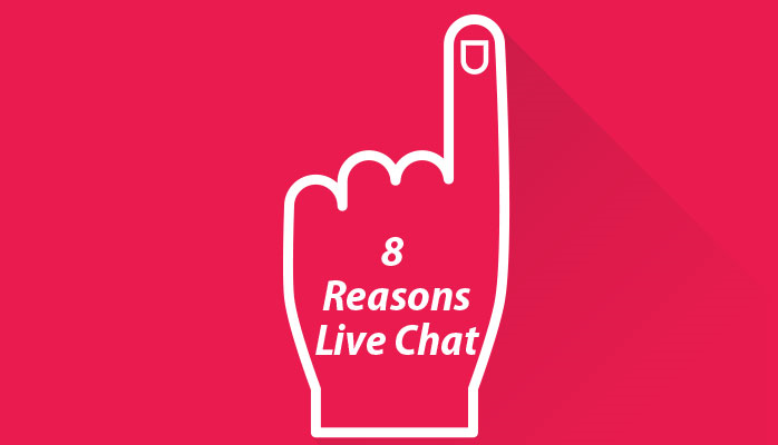 Top 8 Reasons Live Chat Enhances Conversions