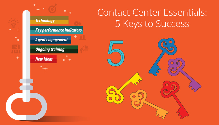Contact Center Essentials: 5 Keys to Success