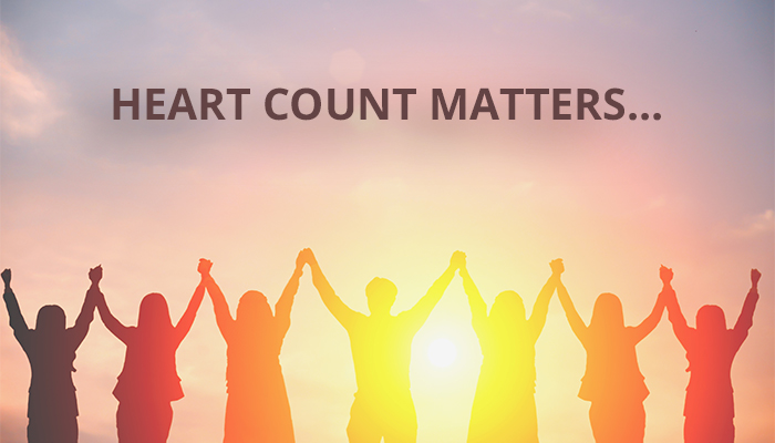 Every Person Matters, Every Heart Matters…YOUR Heart Matters!