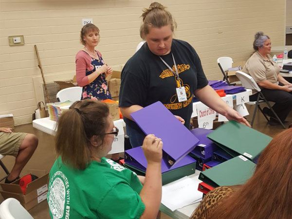 Etech Give Back Program- School Supply Drive at Rusk