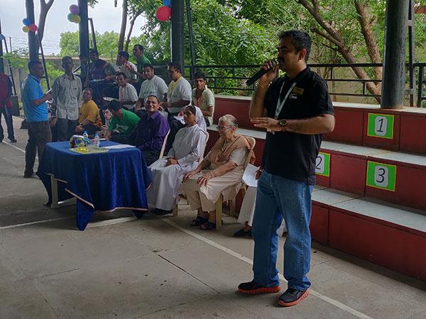 Etech Gandhinagar Volunteered in the Madhurya Bhavan Special Olympics