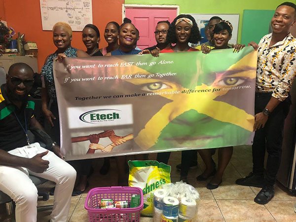 Etech Give Back Program – Donation to the Open-Heart Care Center