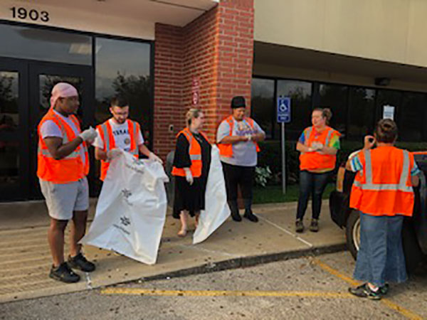 Etech Give Back Program- Team Nacogdoches Adopted a Highway