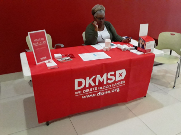 Etech Give Back Program – Bone Marrow Donation Table at Dallas