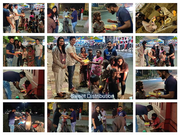 Team Vadodara Gave Back to the Community during the Festival of Lights