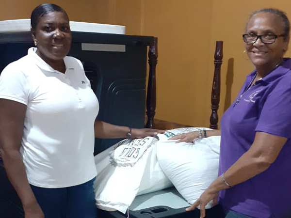 Etech Give Back – Contribution to the Mission's Department of a Church