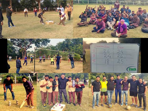 Etech Gandhinagar Invited the Differently Abled Children of Samarpan School