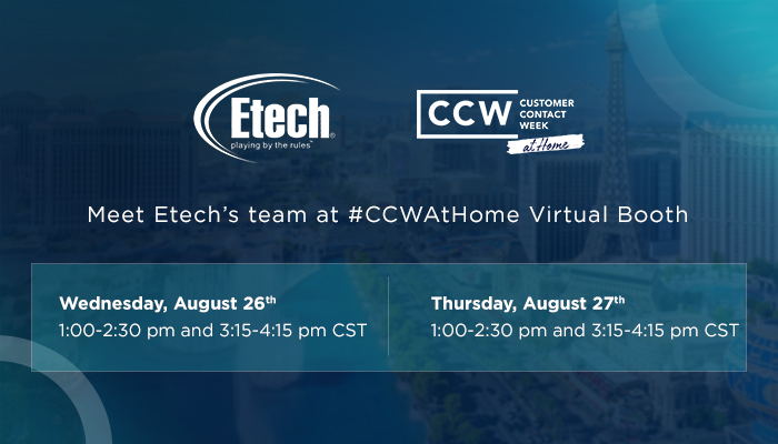 CCW At Home - Virtual Contact Center Event