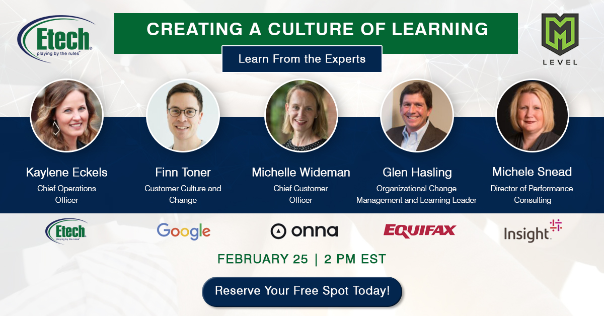 Webinar: Creating A Culture Of Learning