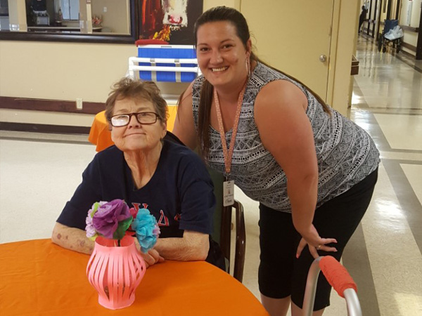 Etech Give Back Program- Team Rusk Brightened Up a Local Nursing Home