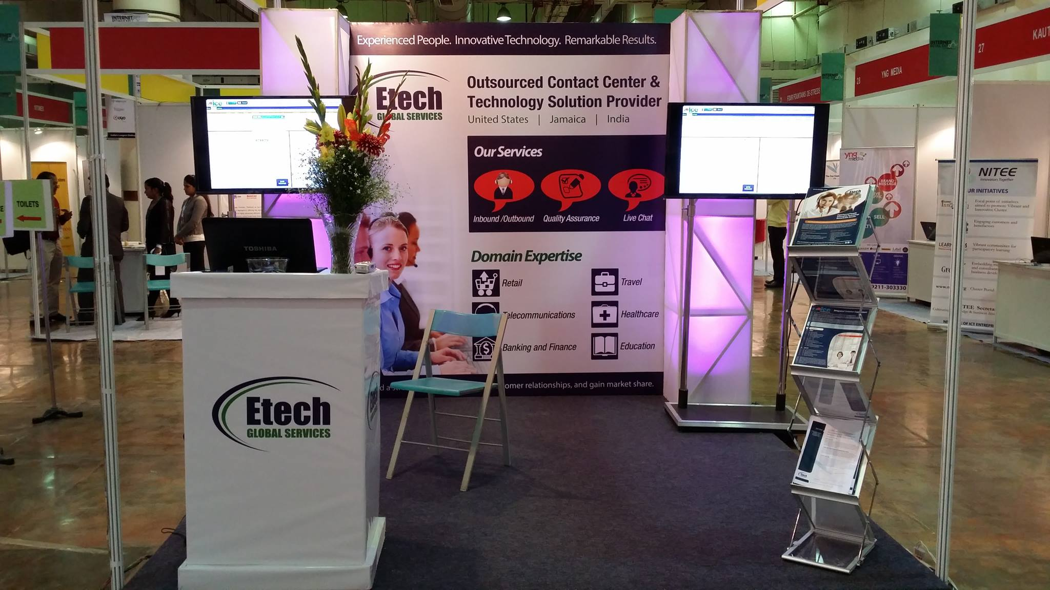 Etech Global Services Makes its Ground in IRE 2014