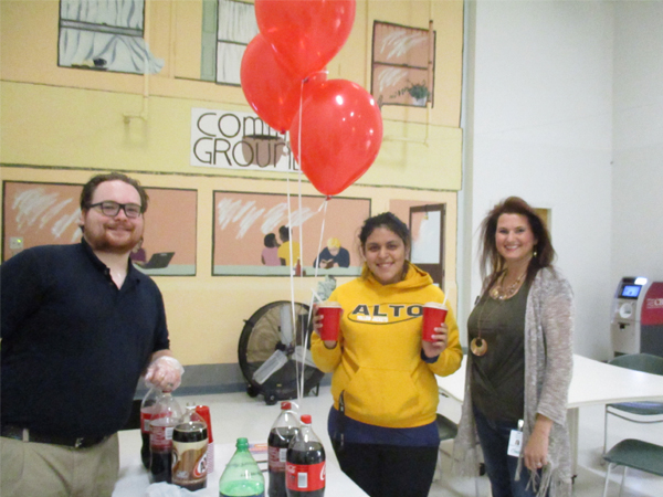 Etech Lufkin hosted a Frito Pie / Bake Sale