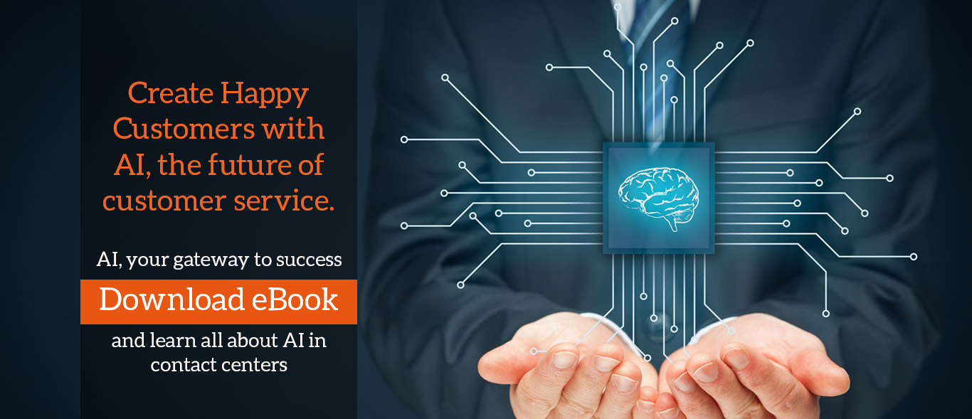 Create Happy Customers with AI, the future of customer service.