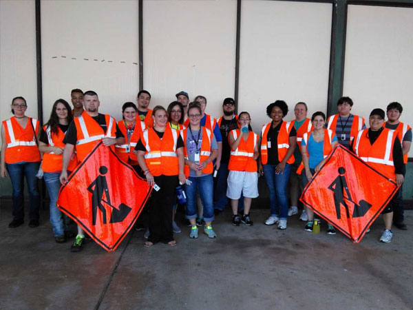 Etech Give Back Program – Lufkin Adopt A Highway
