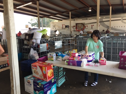 Helping the victims of Harvey Hurricane