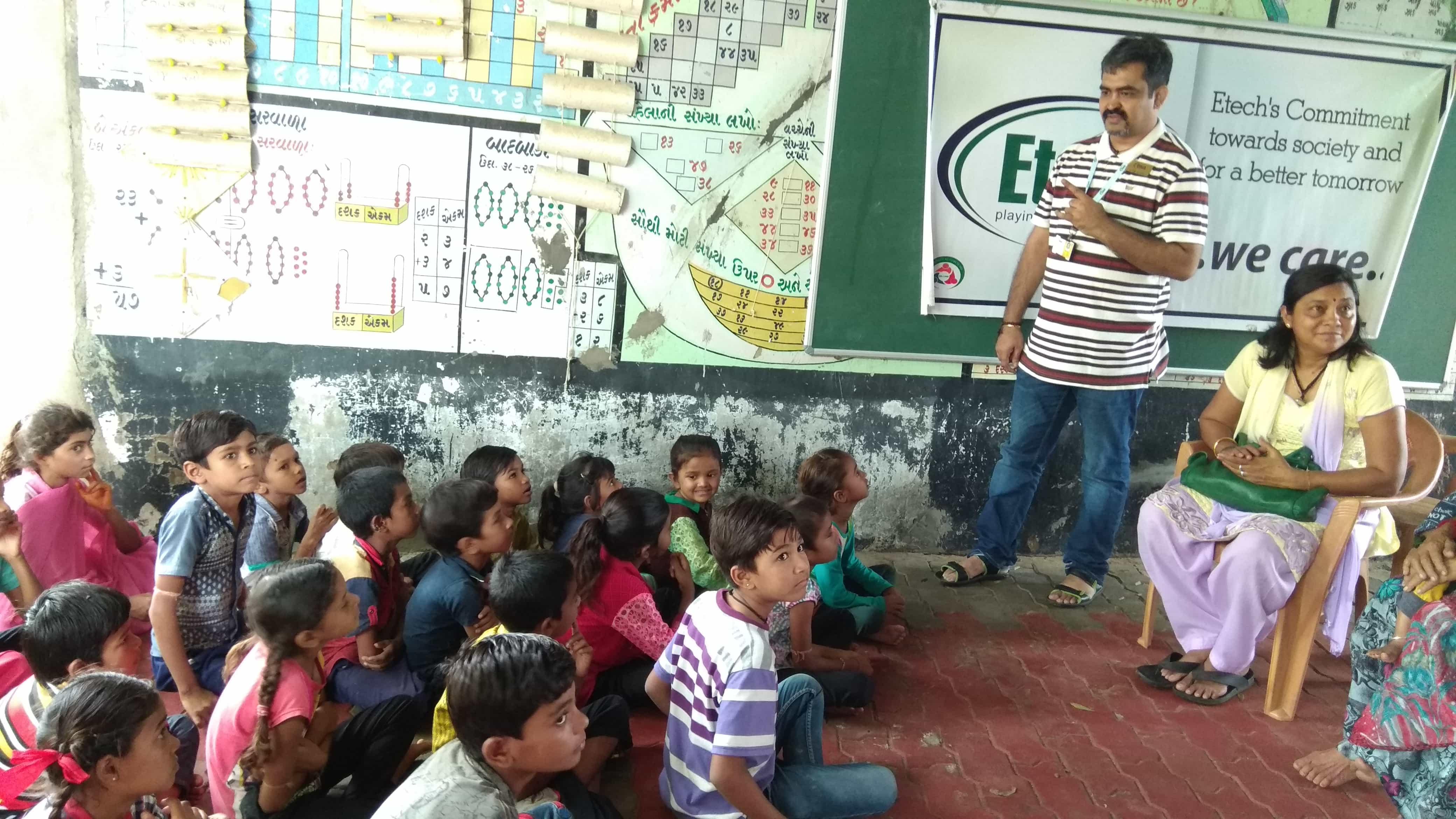 Etech Give Back Program @ Etech Gandhinagar