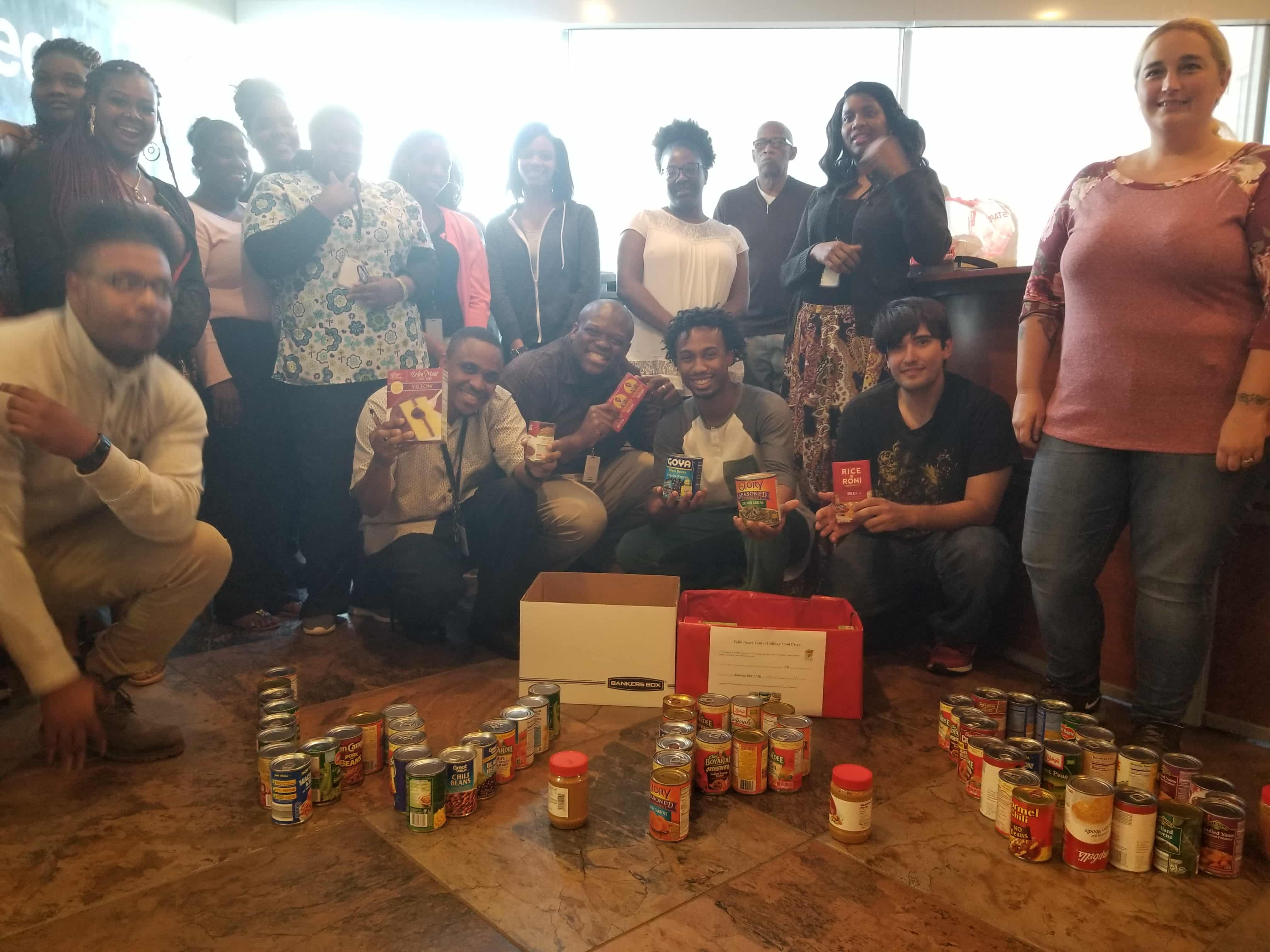 Etech Give Back Program – Palm Beach Food Drive