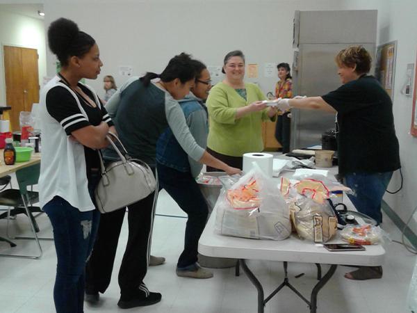 Etech Give Back Program – Spring Break Breakfast – Lufkin