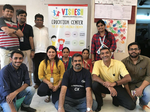 Etech Give Back Program – Donation Drive for Specially Challenged Kids @ Etech Gandhinagar