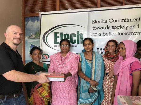 Notebookonation 2018 @ Etech, Gandhinagar