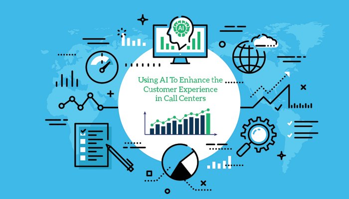 Using AI To Enhance the Customer Experience in Call Centers
