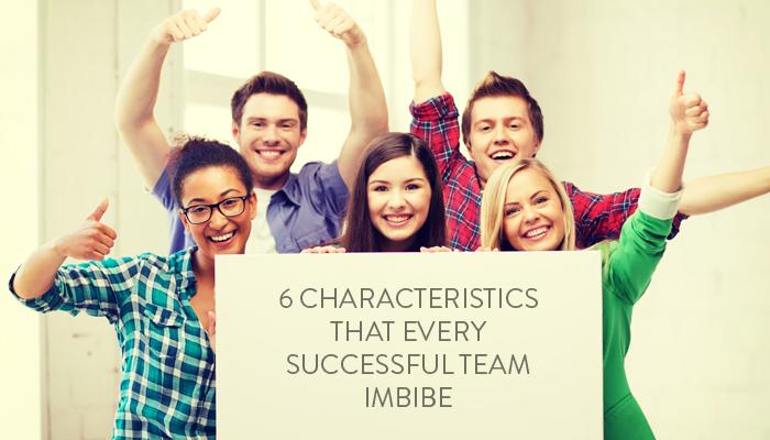 6 characteristics that every Successful Team Imbibe