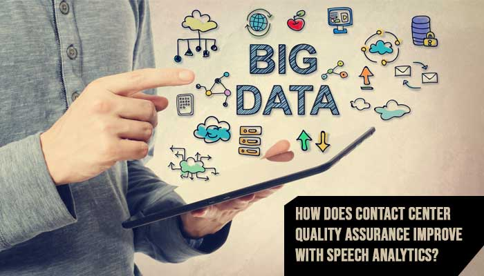 How does Contact Center Quality Assurance Improve With Speech Analytics?