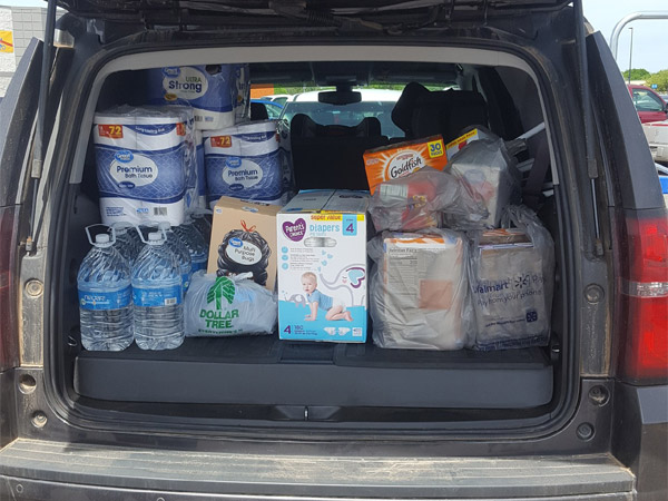 Etech Rusk Supported the Alto Community in Need After the Devasting Tornadoes