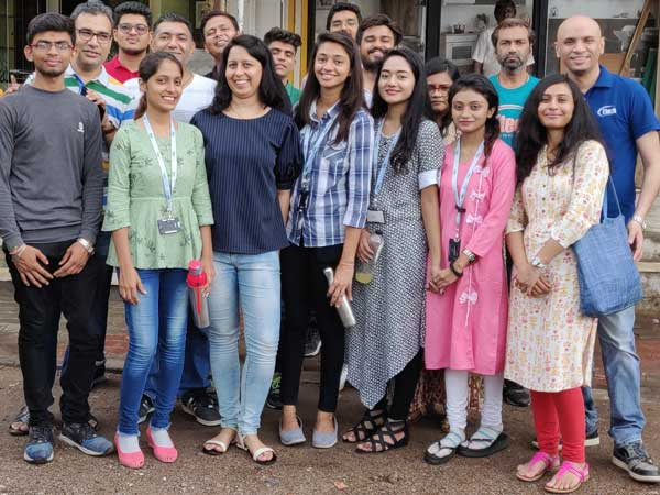 Etech Give Back Program- Notebook Donation at Gandhinagar