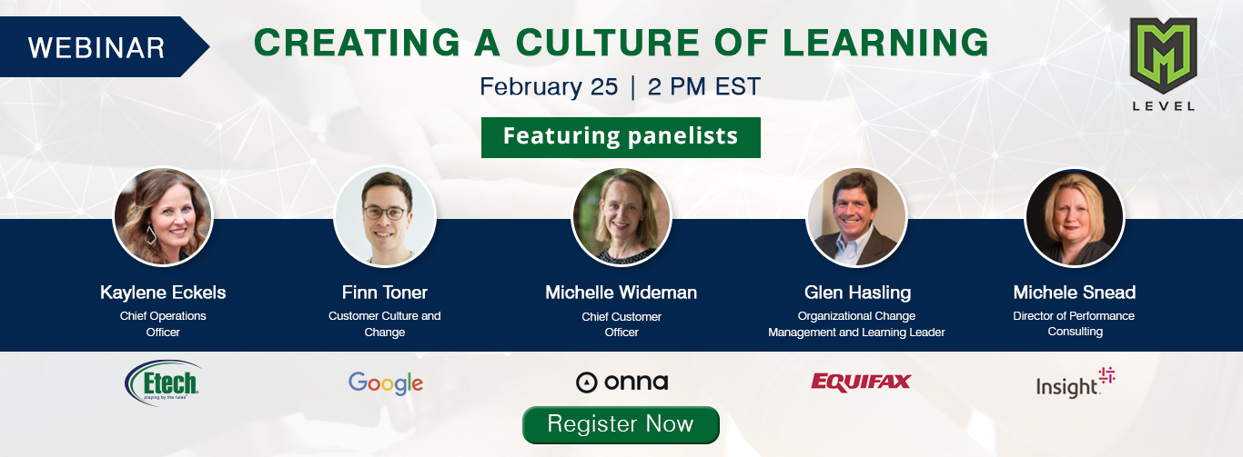 Webinar - Creating A Culture Of Learning